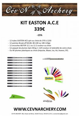 KIT FLÈCHES EASTON ACE