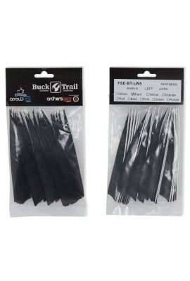 BUCK TRAIL PAQUET (x24) SHIELD 5""