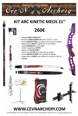 KIT ARC KINETIC MEOS 21""